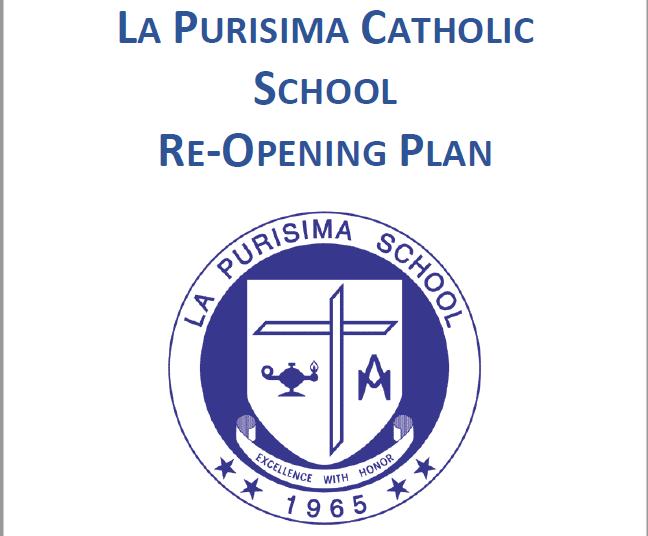 La Purisima Catholic School Re-Opening Plan